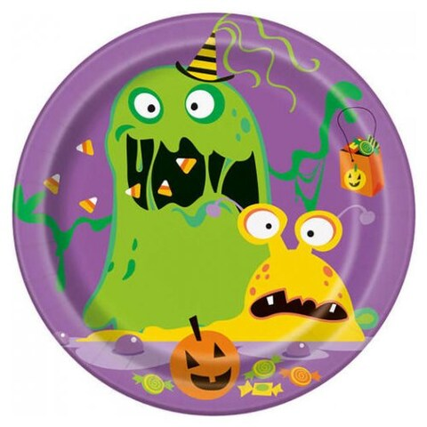 Silly Monsters Dessert Plate