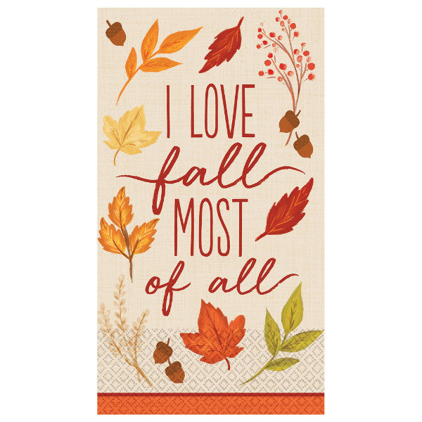 Fall Foliage Guest Towels