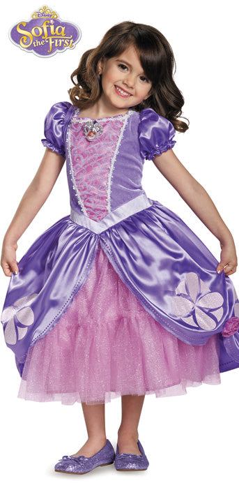 Child Sofia the First Deluxe Costume - GIRLS - Halloween & Party Costumes - America Likes To Party