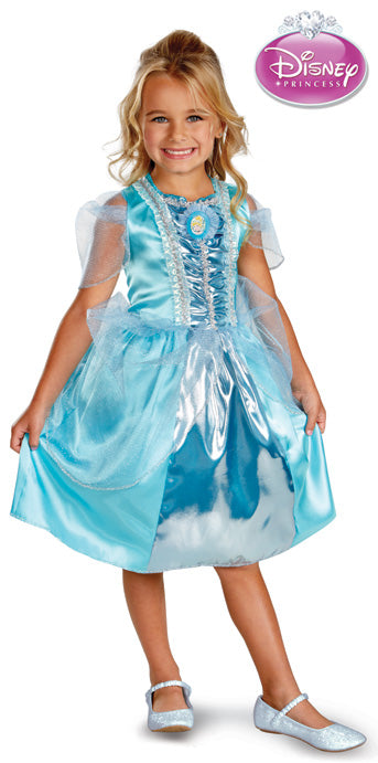 Child Cinderella Sparkle Classic Costume - GIRLS - Halloween & Party Costumes - America Likes To Party