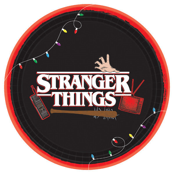 Stranger Things Lunch Plates