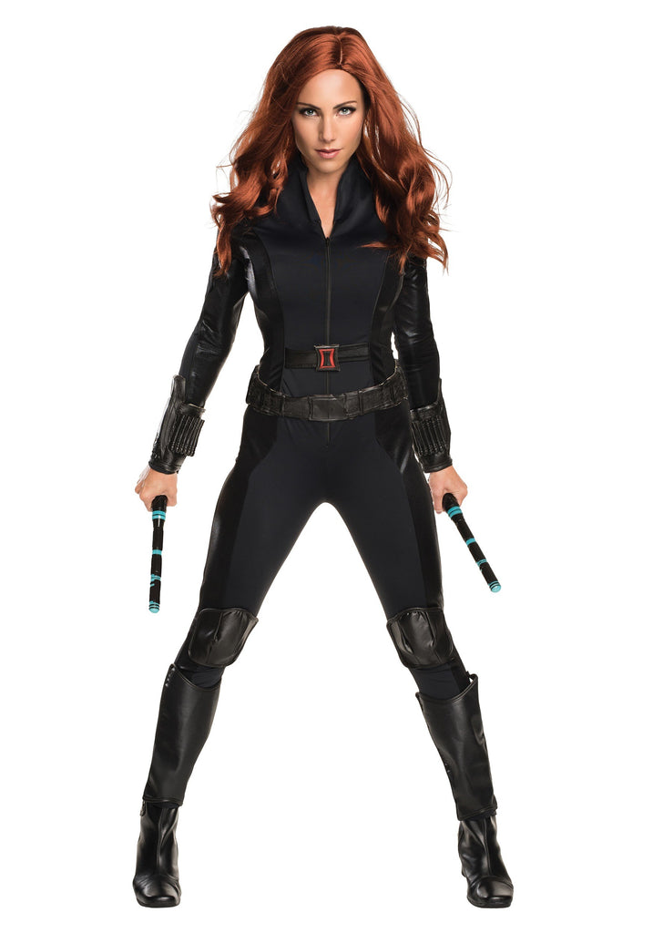 Adult Black Widow Costume - ADULT FEMALE - Halloween & Party Costumes - America Likes To Party