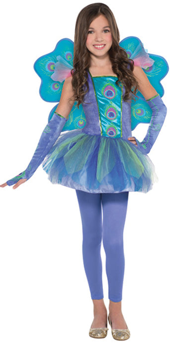 Child Peacock Princess Costume - GIRLS - Halloween & Party Costumes - America Likes To Party