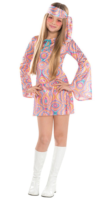 Child Disco Diva Costume - GIRLS - Halloween & Party Costumes - America Likes To Party