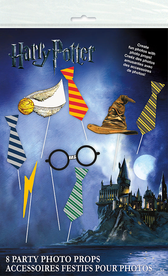 Harry Potter Photo Props - HARRY POTTER - Party Supplies - America Likes To Party
