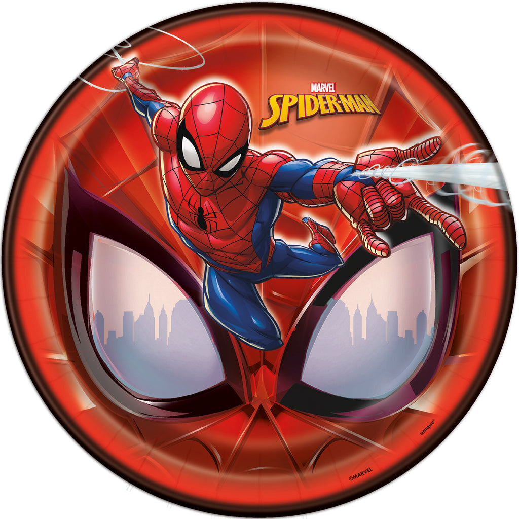 Spiderman Lunch Plates