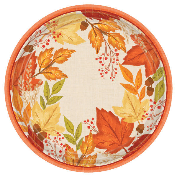 Fall Foliage Dinner Plate