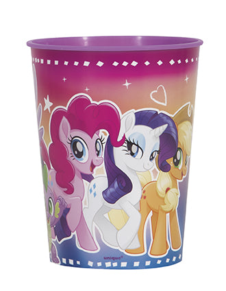 My Little Pony 16 oz Plastic Favor Cup - MY LITTLE PONY - Party Supplies - America Likes To Party