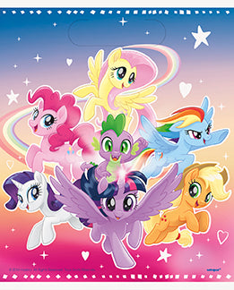 My Little Pony Loot Bags 8ct - MY LITTLE PONY - Party Supplies - America Likes To Party