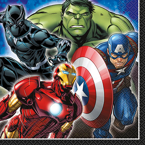 Avengers Lunch Napkin - Avengers - Party Supplies - America Likes To Party