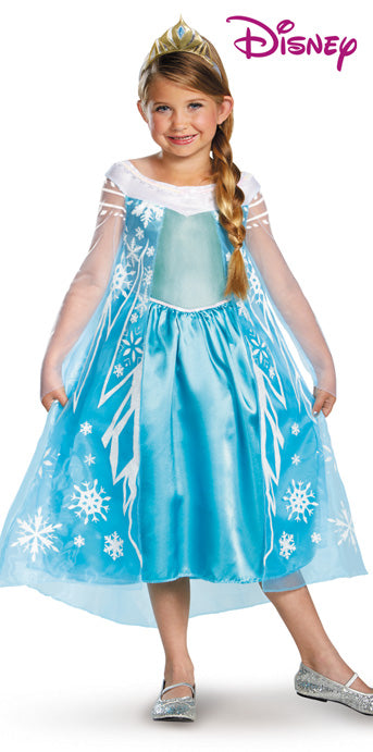 Child Elsa Deluxe Costume - GIRLS - Halloween & Party Costumes - America Likes To Party