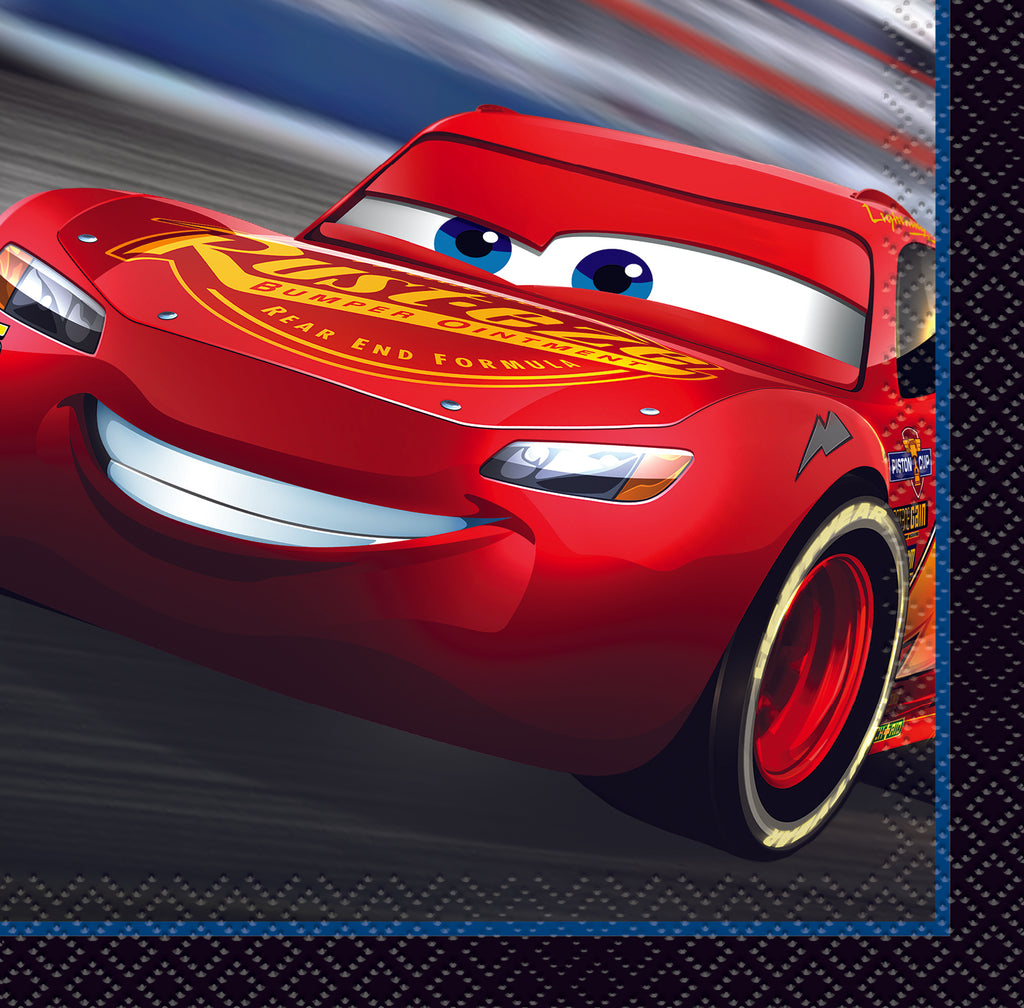 Disney Cars 3 Beverage Napkins