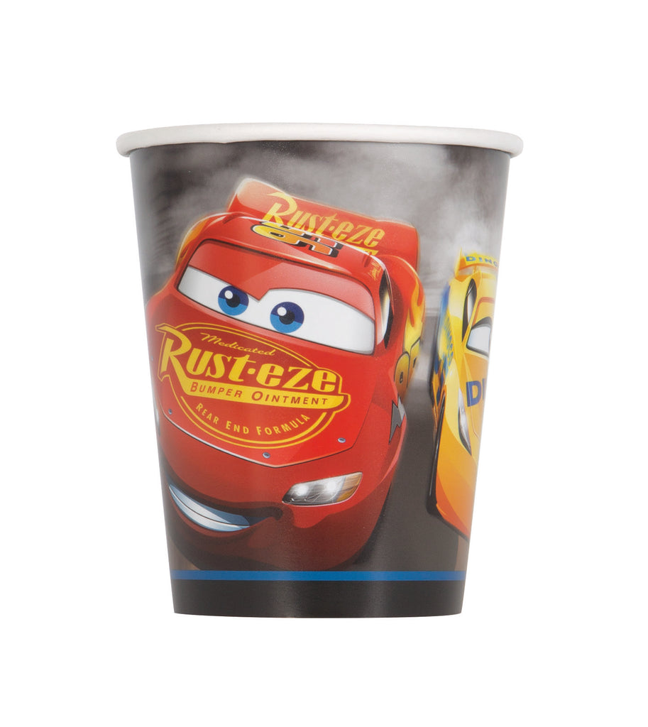 Disney Cars 3 Paper Cups