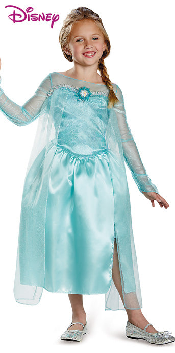 Child Elsa Classic Costume - GIRLS - Halloween & Party Costumes - America Likes To Party
