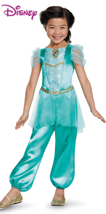 Child Jasmine Classic Costume - GIRLS - Halloween & Party Costumes - America Likes To Party