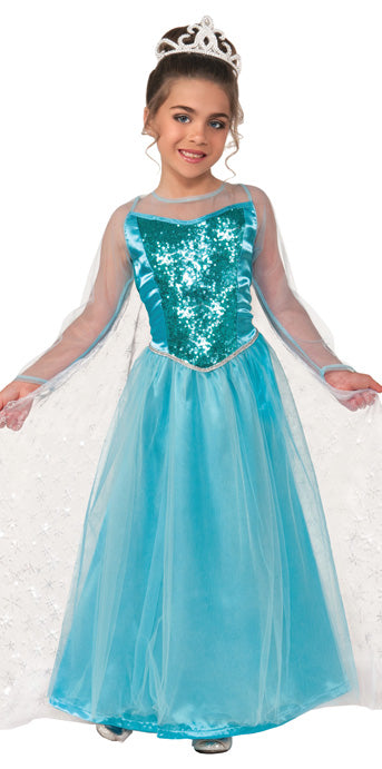 Child Princess Krystal Costume - GIRLS - Halloween & Party Costumes - America Likes To Party