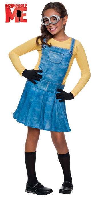 Child Minion Female Costume - GIRLS - Halloween & Party Costumes - America Likes To Party