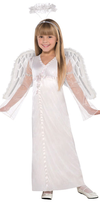 Child Heavenly Angel Costume - GIRLS - Halloween & Party Costumes - America Likes To Party