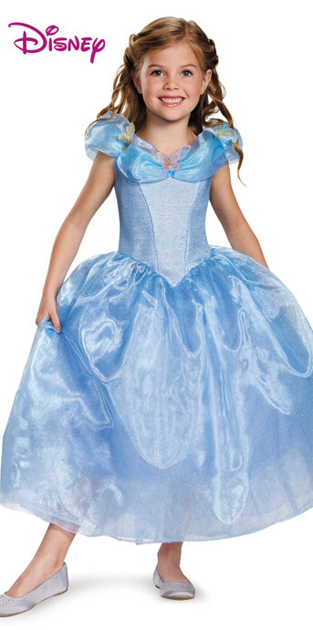 Child Cinderella Deluxe Costume - GIRLS - Halloween & Party Costumes - America Likes To Party