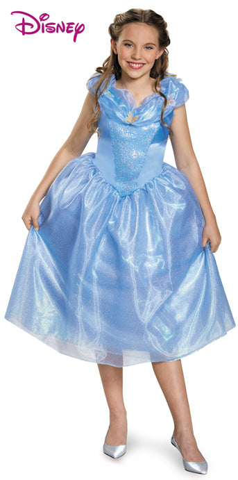 Child Cinderella Movie Deluxe Costume - GIRLS - Halloween & Party Costumes - America Likes To Party