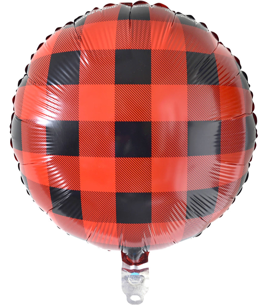 Buffalo Plaid Balloon