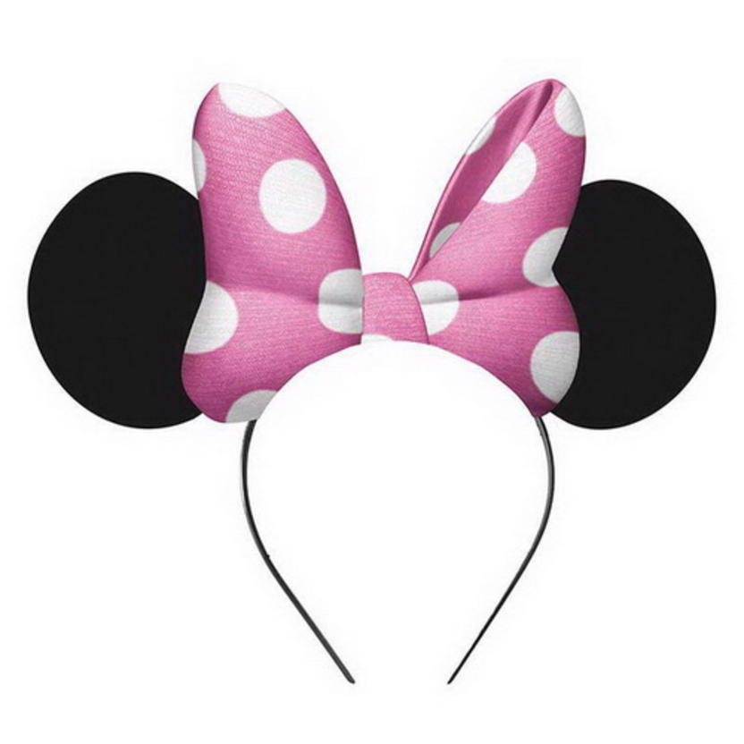 Minnie Mouse Ear Hats 4ct