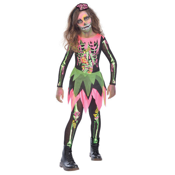 Child Deadly Zombie Costume #084