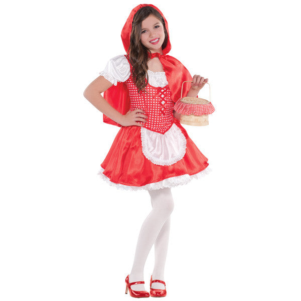 Child Lil Red Riding Hood Costume #057
