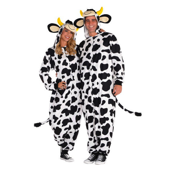 Adult Cow Zipster Costume #259