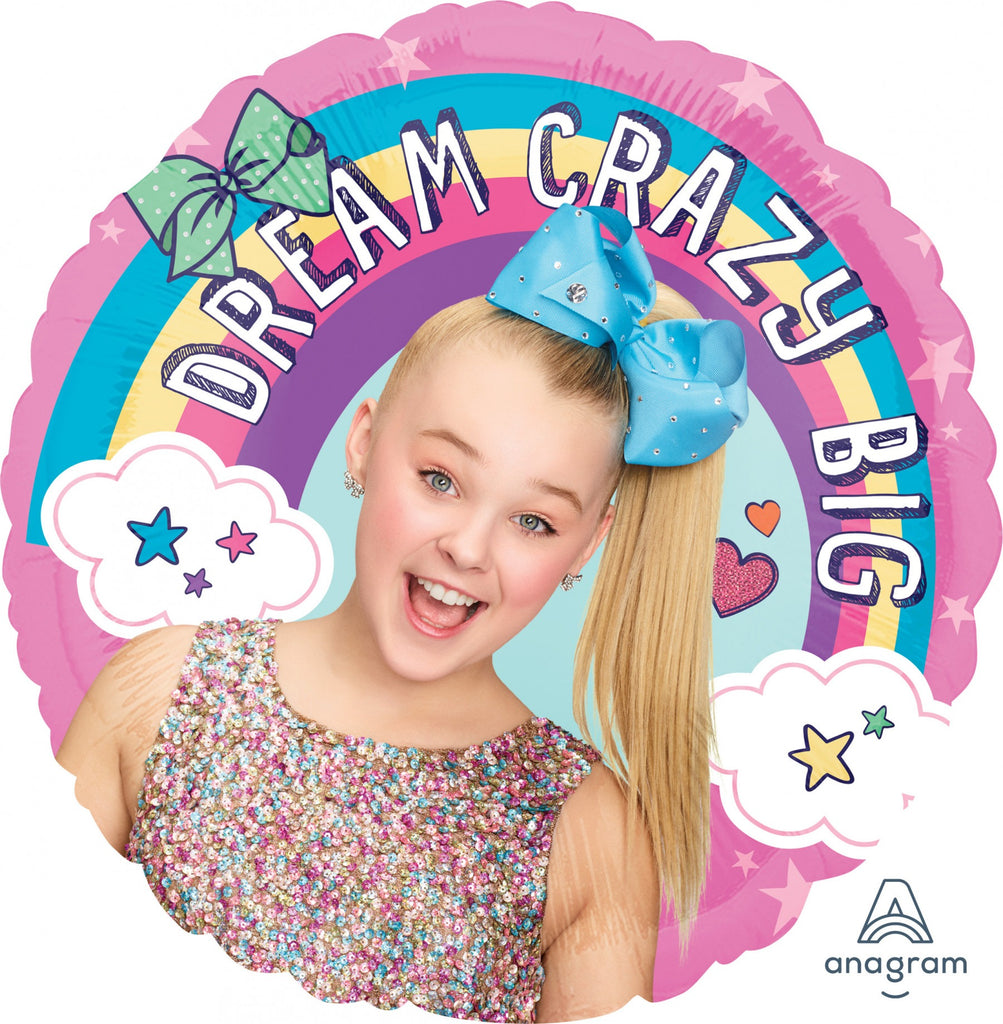 Jojo Siwa Happy Birthday Balloon