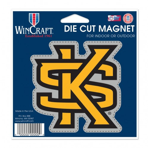 Kennesaw State University Die Cut Magnet