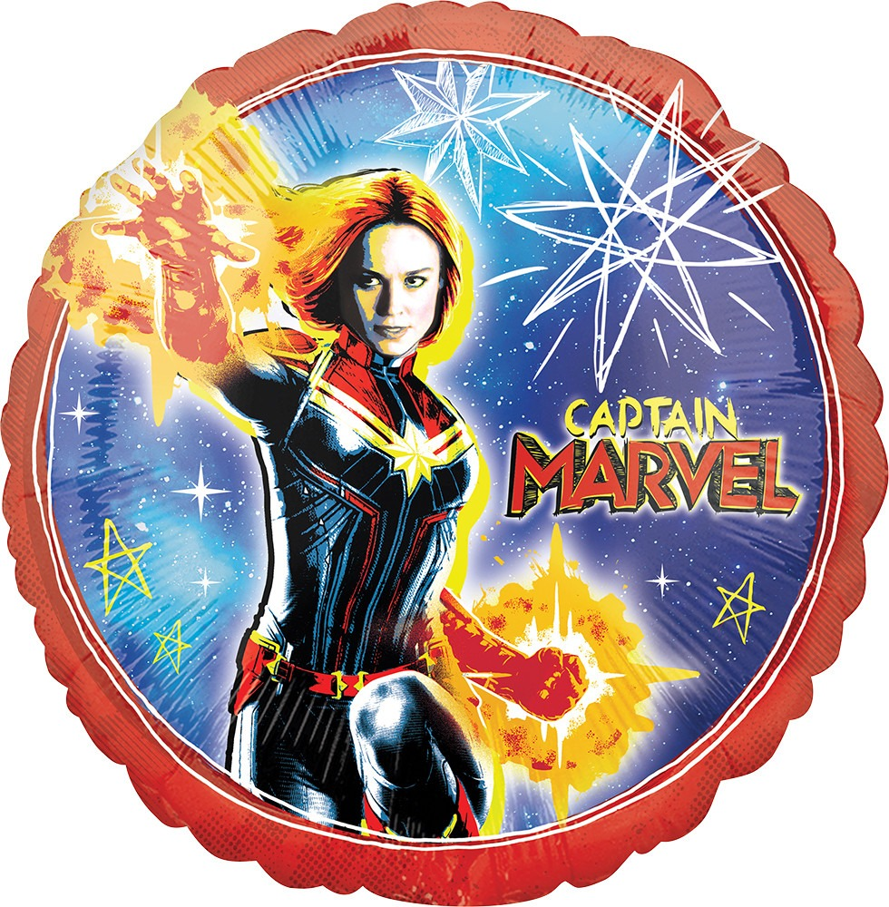 Captain Marvel Balloon