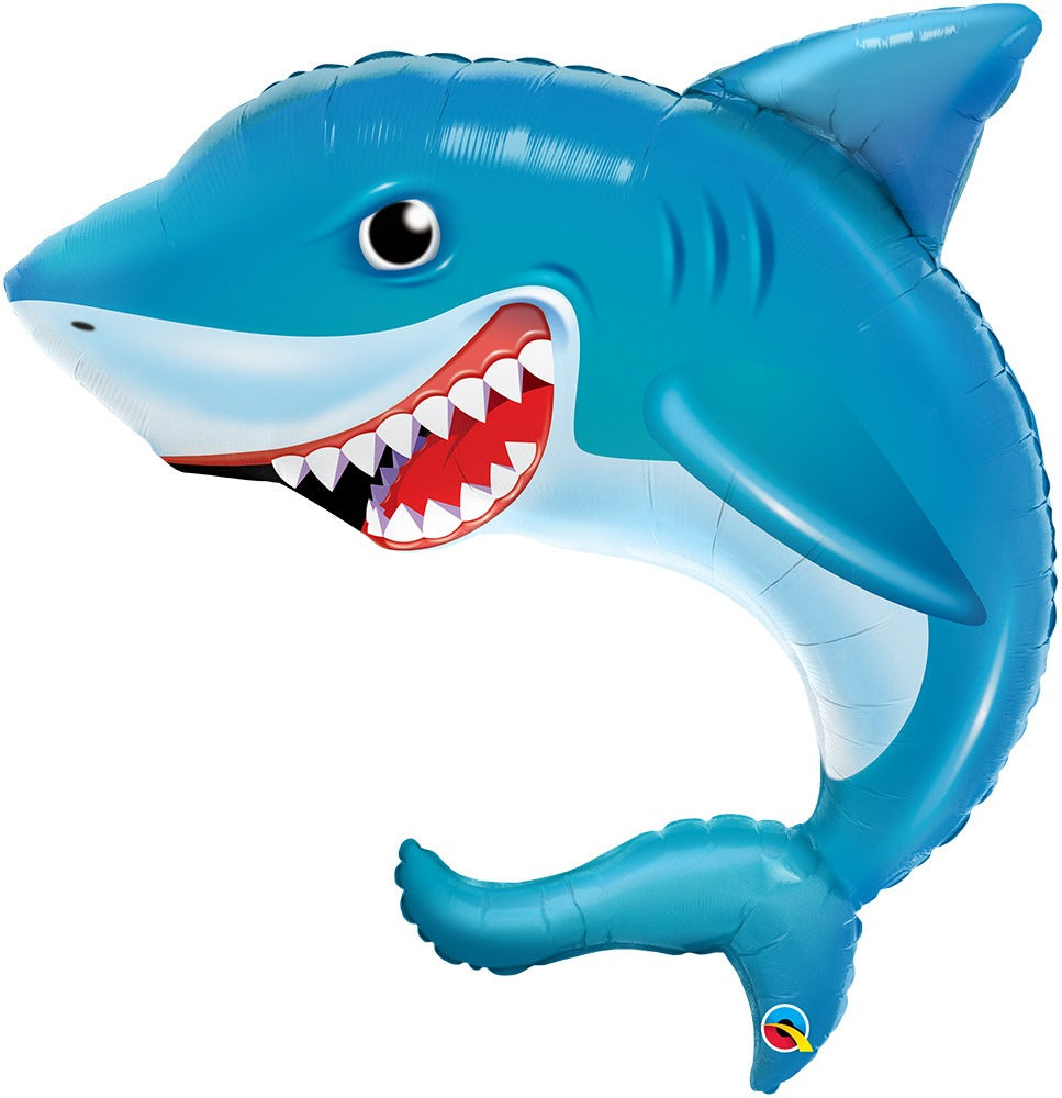 "36"" Smiling Shark foil balloon"