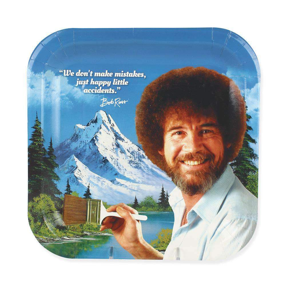 Bob Ross Lunch Plate