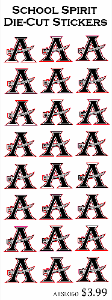 Allatoona High School Logo Stickers 24ct