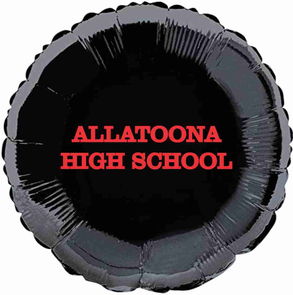 "Allatoona High School 18"" Foil Name Balloon"
