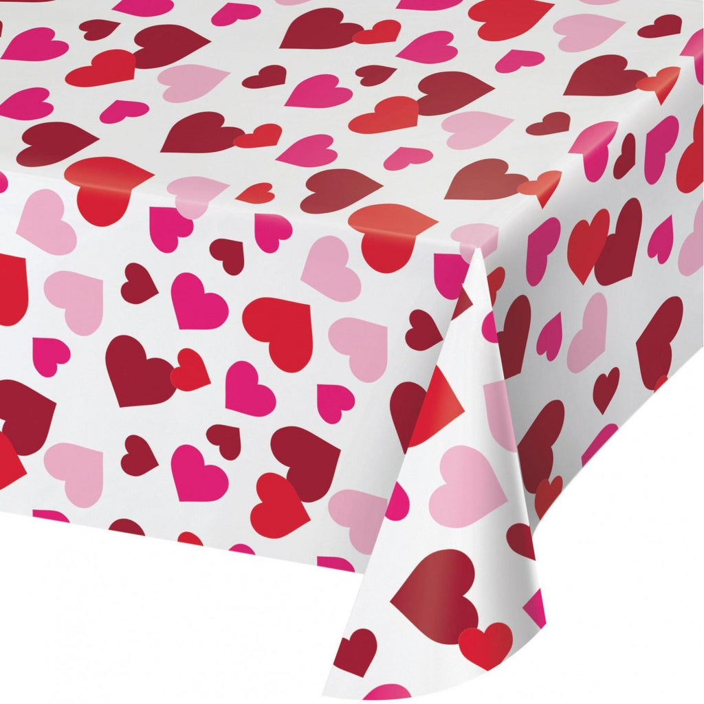 Hearts Tablecover