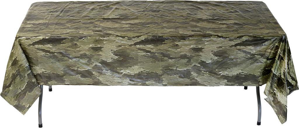 American Heroes Tablecover - MOSSY OAK - Party Supplies - America Likes To Party