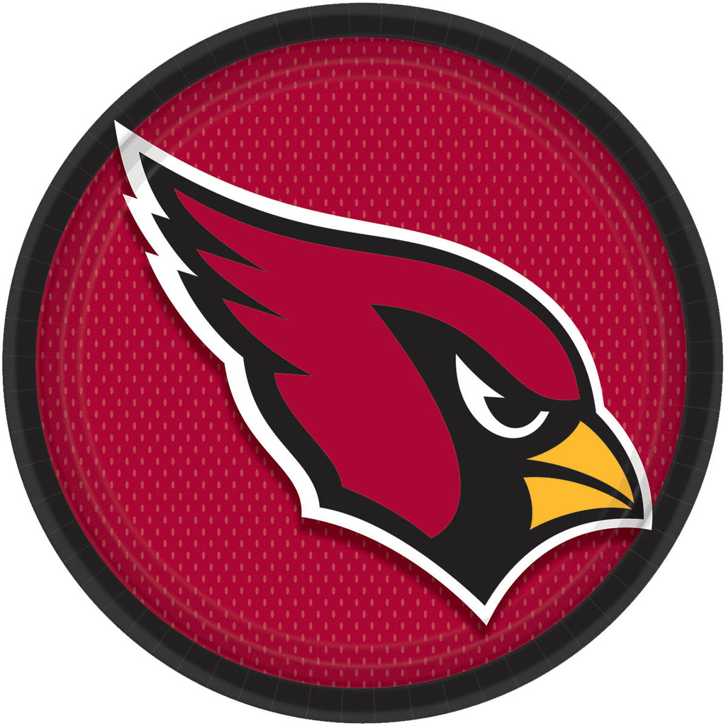 Arizona Cardinals Lunch Plates 8ct - NFL - Party Supplies - America Likes To Party