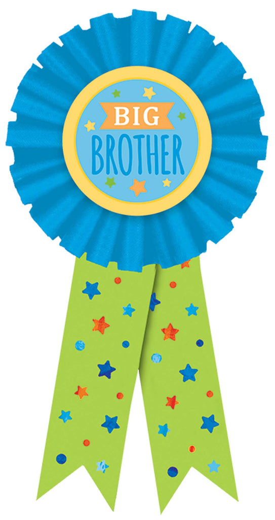 Big Brother Award Ribbon - ACCESSORIES BABY - Party Supplies - America Likes To Party