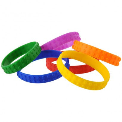 Block Mani Bracelets 12ct - PACKAGED FAVORS - Party Supplies - America Likes To Party