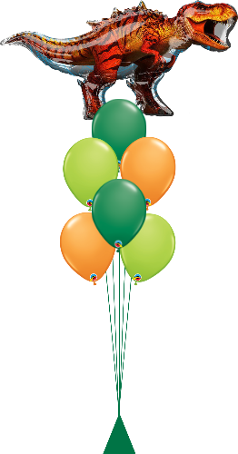 Dinosaur Balloon Bouquet OB38