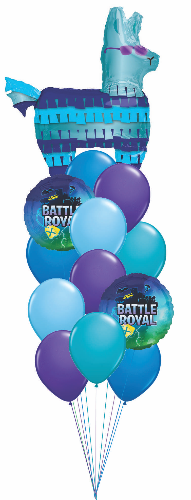 Battle Royal Balloon Floor Bouquet OB3
