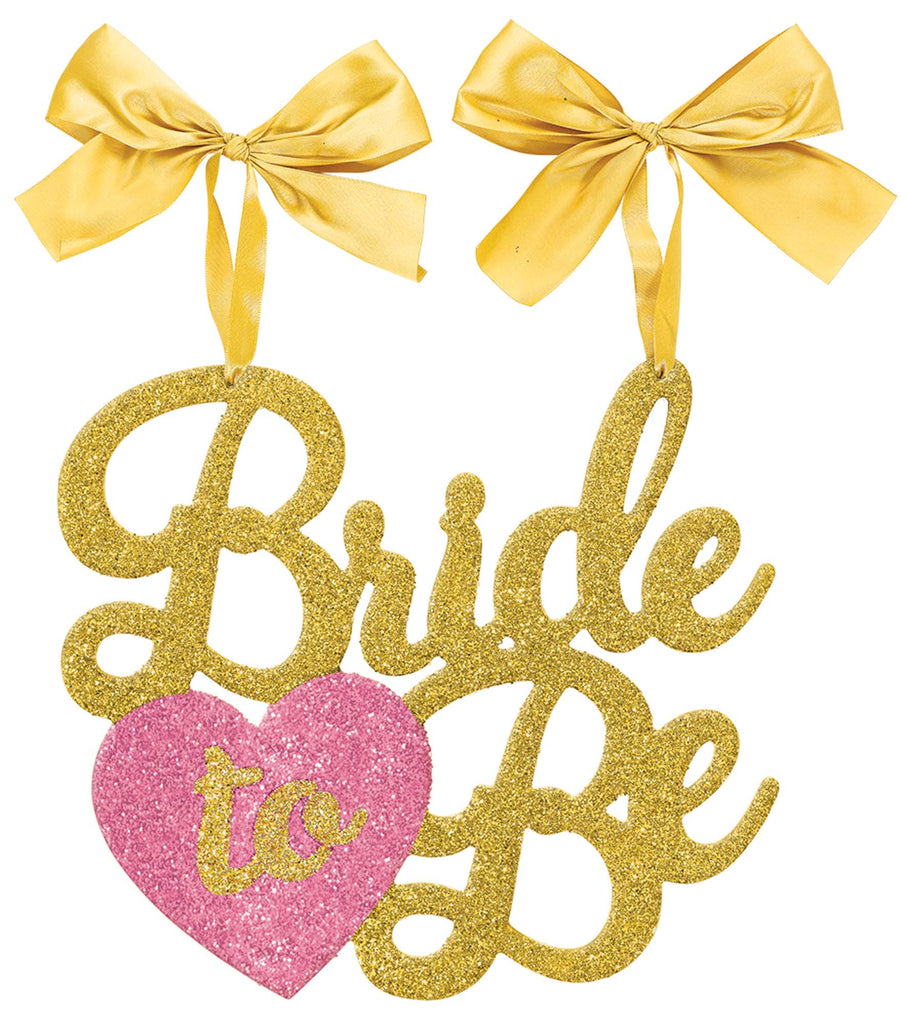 Bride To Be Chair Sign - DECORATIONS WEDDING - Party Supplies - America Likes To Party