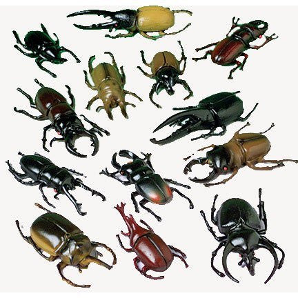Beetle Bug Figurines 12ct - PACKAGED FAVORS - Party Supplies - America Likes To Party