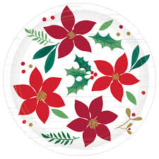 Christmas Wishes Dessert Plates