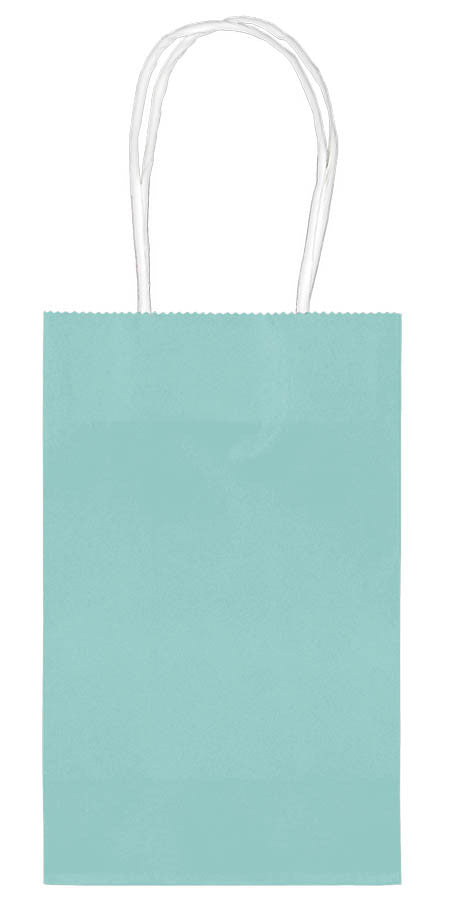 Robin's Egg Paper Cub Bags 10ct - FAVOR BAGS/CONTAINERS - Party Supplies - America Likes To Party