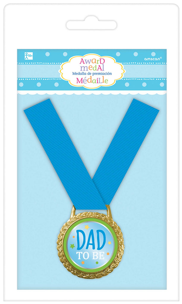 Dad To Be Award Medal - ACCESSORIES BABY - Party Supplies - America Likes To Party