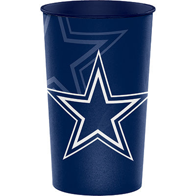 Dallas Cowboys 22oz Stadium Cup - NFL - Party Supplies - America Likes To Party