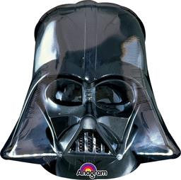 Star Wars Darth Vader Super Shape Balloon - KIDS BDAY MYLARS - Party Supplies - America Likes To Party